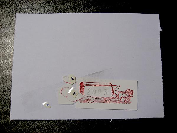 löschpapier für briefmarken