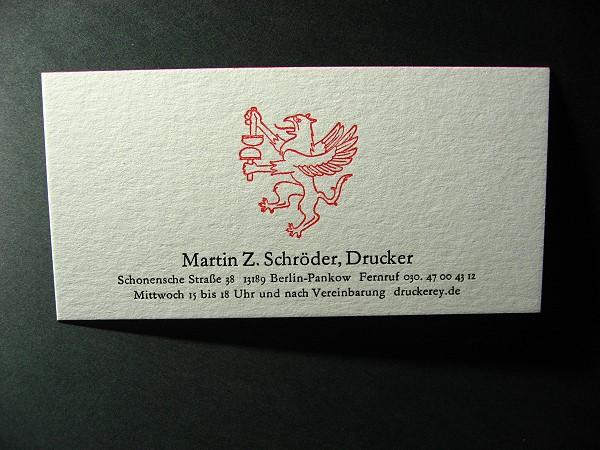 Meine Visitenkarten Reden Ist Silber ï Druckerey Blog